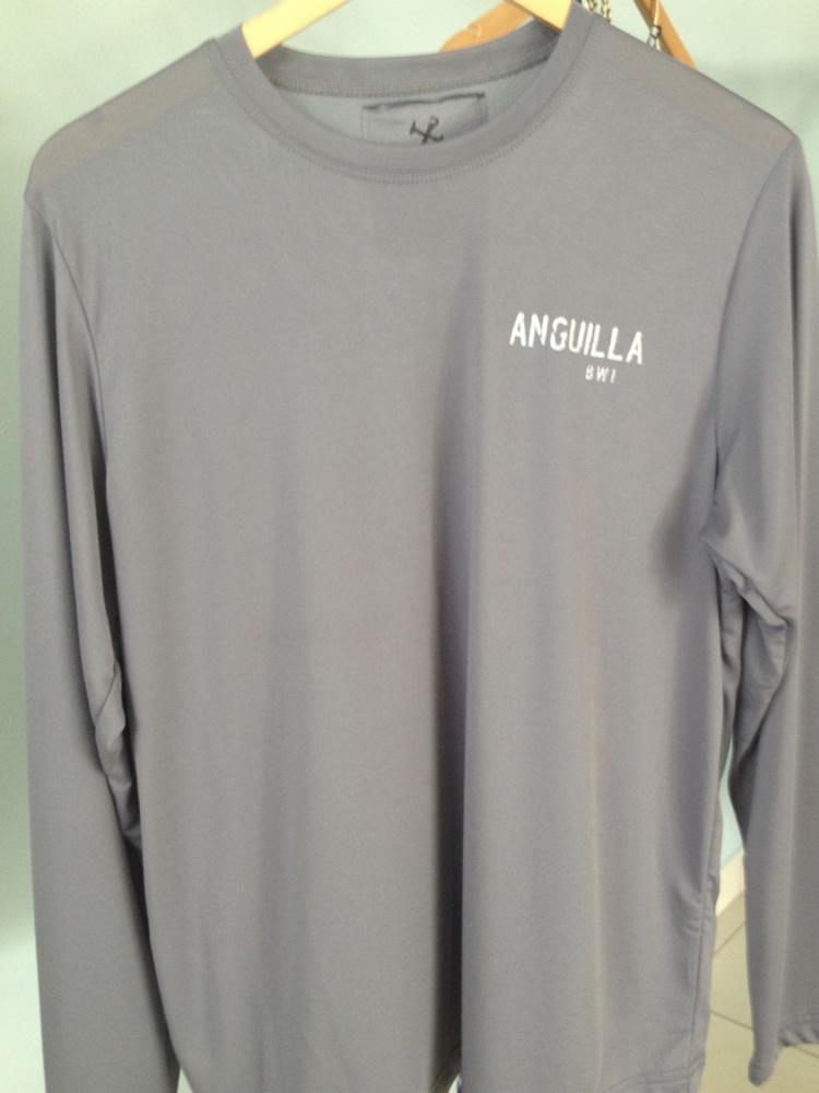 Anguilla Beaches Suntek SPF 50 Shirt (front)