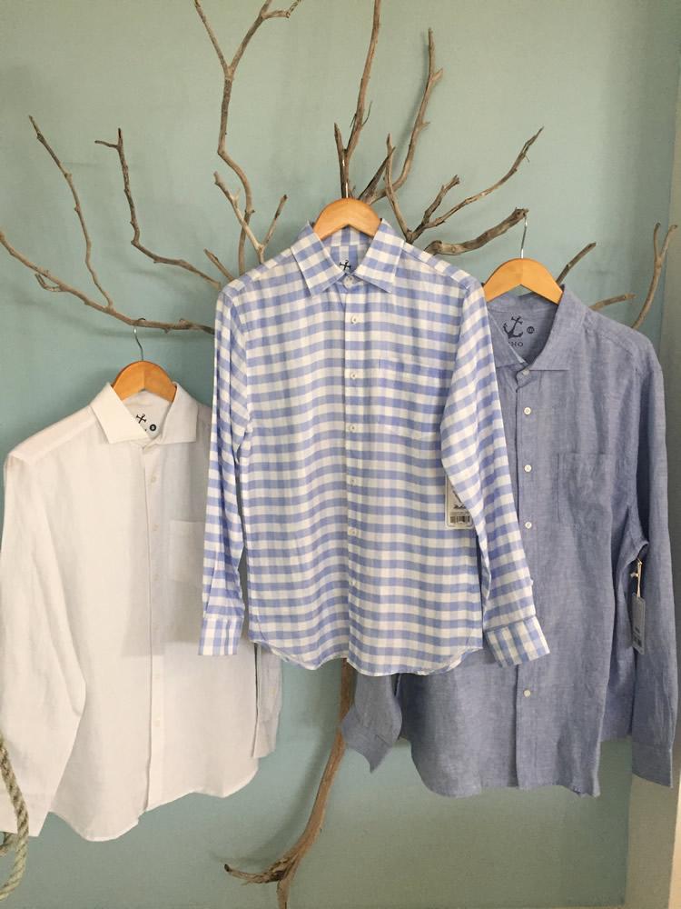 Mens 100% Linen Shirts