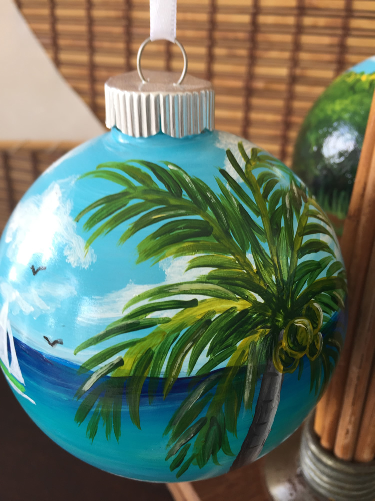 Locally Hand Painted Ornament
