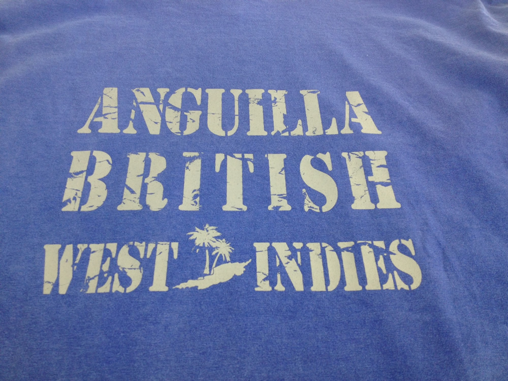 Limin Exclusive Anguilla T-Shirt (back)